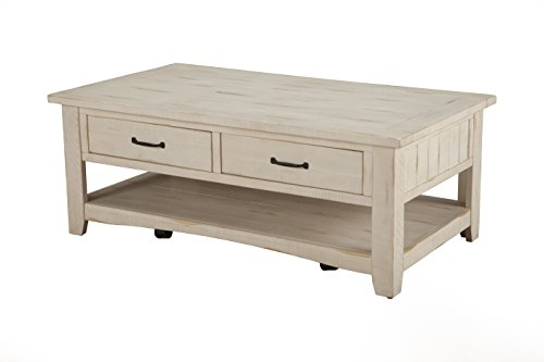 Martin Svensson Home Rustic Coffee Table, Antique White