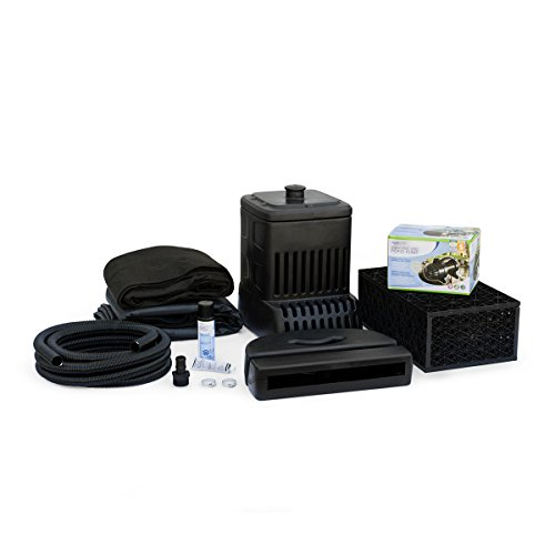 Aquascape 83001 DIY Backyard Waterfall Kit, Black