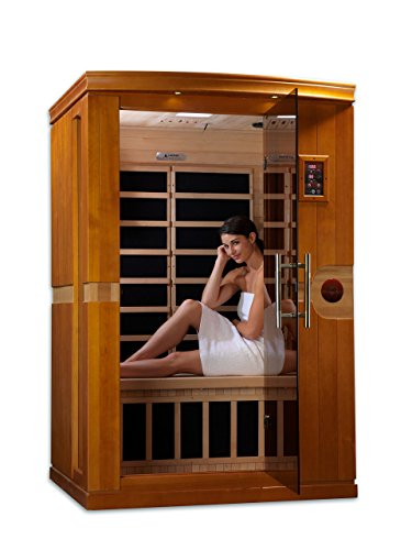 Dynamic 'Venice' 2-person Low EMF Far Infrared Sauna