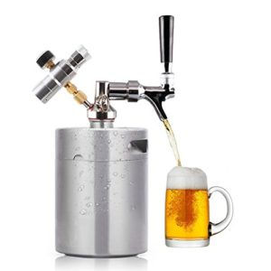 Bar Serving Pressurized Growlers Mini Kegs