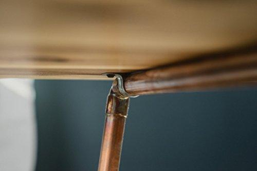 Niangua Furniture Live Edge Rustic Coffee Table Hickory Wood