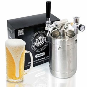 Portable Pressurized Growlers Mini Kegs 64oz